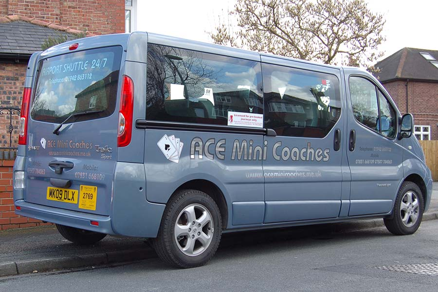 8 SEATER MINI BUS